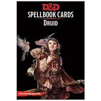 Dungeons & Dragons: Spellbook Cards Druid Deck - Revised Edition (131 Cards)