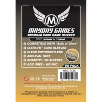 Mayday 7135 - Premium Custom Card Sleeves (Pack of 50) - 50 X 75 MM