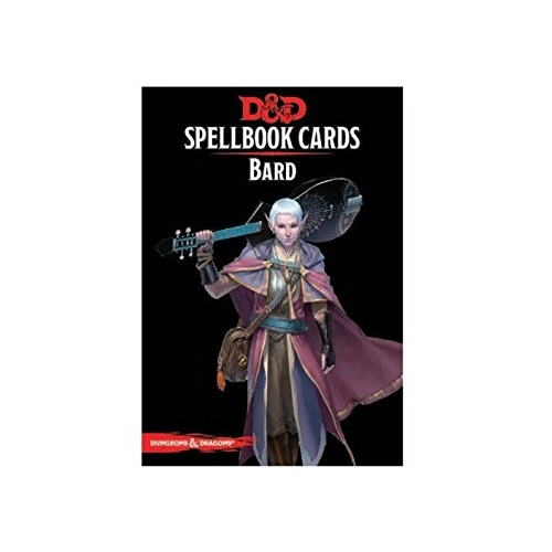 Dungeons & Dragons: Spellbook Cards Bard Deck - Revised Edition (110 Cards)