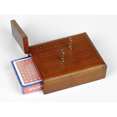 Travel Cribbage with Playing Cards