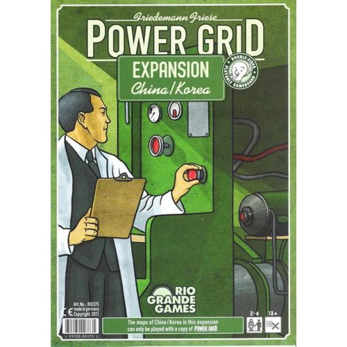 Power Grid Expansion: China/Korea