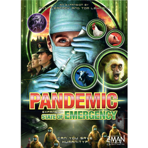 Pandemic Expansion - State of Emergency